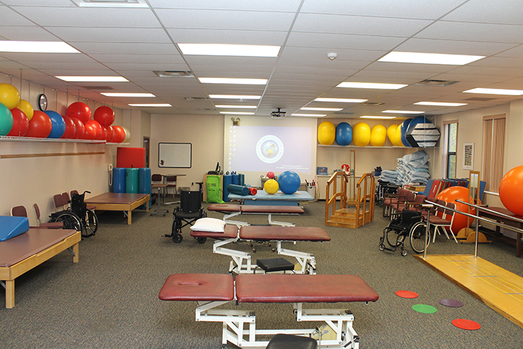 physical therapy classroom
