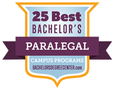 25 Best Bachelor's Paralegal program