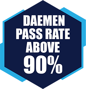 Daemen Pass Rate Above 90%