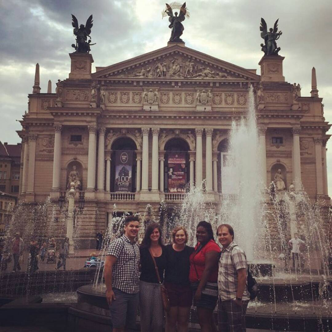 Daemen Students in L'viv, Ukraine Summer 2015
