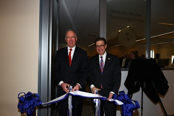 Graduate Studies Technology Center Opening