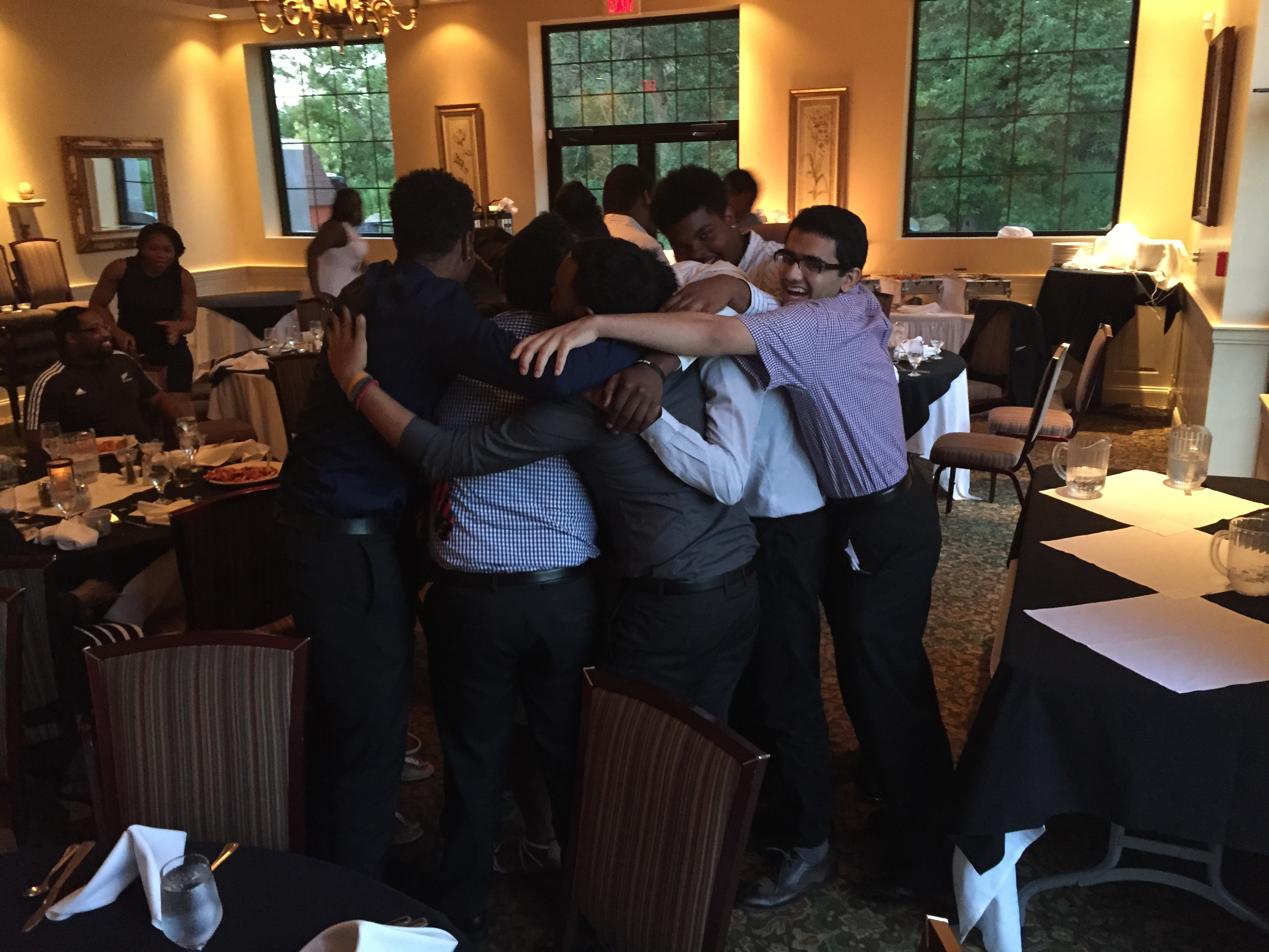 Summer Program 2015 comes to an end with a big hug