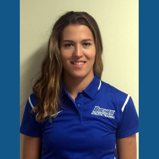 Athletic Training student, Kaitlyn Gustafson, is gaining valuable experience as a second-year graduate student while participating in clinical assignments within Western New York.