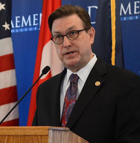 President Gary A. Olson