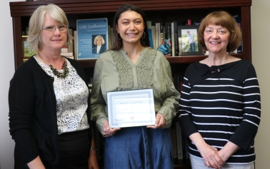 SOS Award Recipient