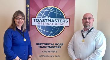 Toastmasters Winners