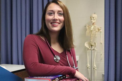 Daemen Nursing Student