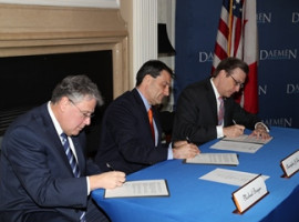 Daemen-Park School Partnership Signing