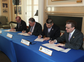 Daemen-SUNY Erie Partnership Signing
