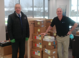 Equipment Donated to Natural Sciences