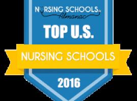 Nursing Schools Almanac badge