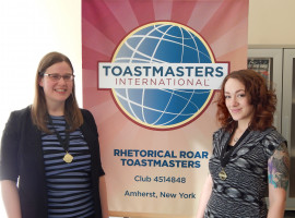 Toastmasters Winners