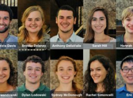 Top 10 First Year Students