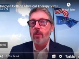 Virtual DPT Graduate Reception